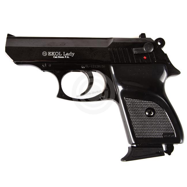 Pistoletà blanc EKOL LADY Bronzé Auto Bronzé Cal.9mm PA