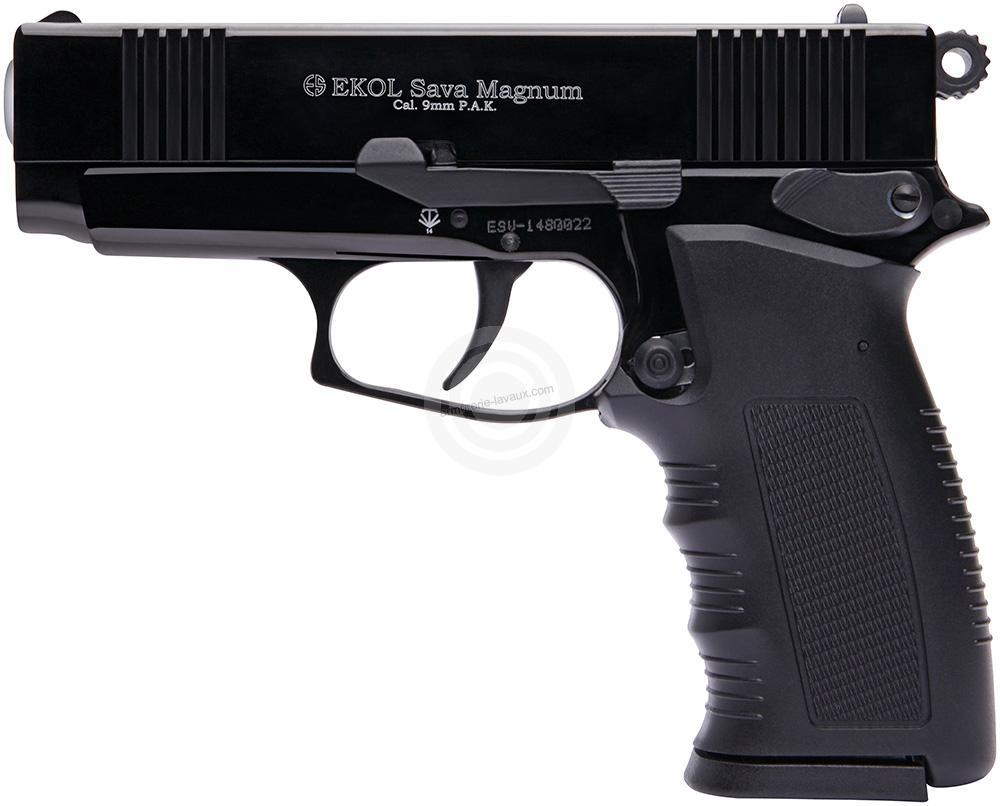 Pistolet EKOL SAVA Magnum PK4 Bronzé Cal.9mm PA