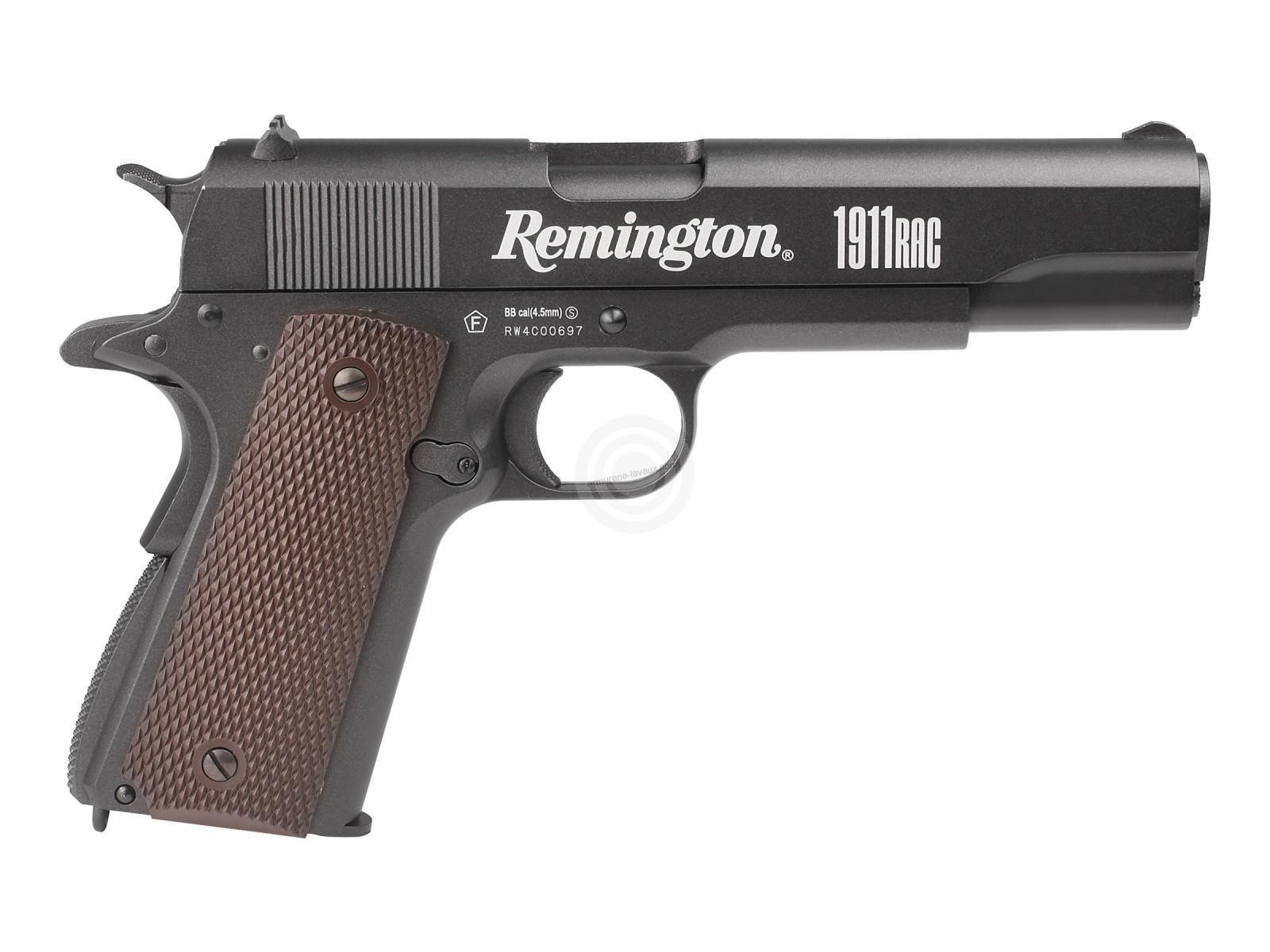 Pistolet REMINGTON 1911 RAC cal.4,5mm Bbs