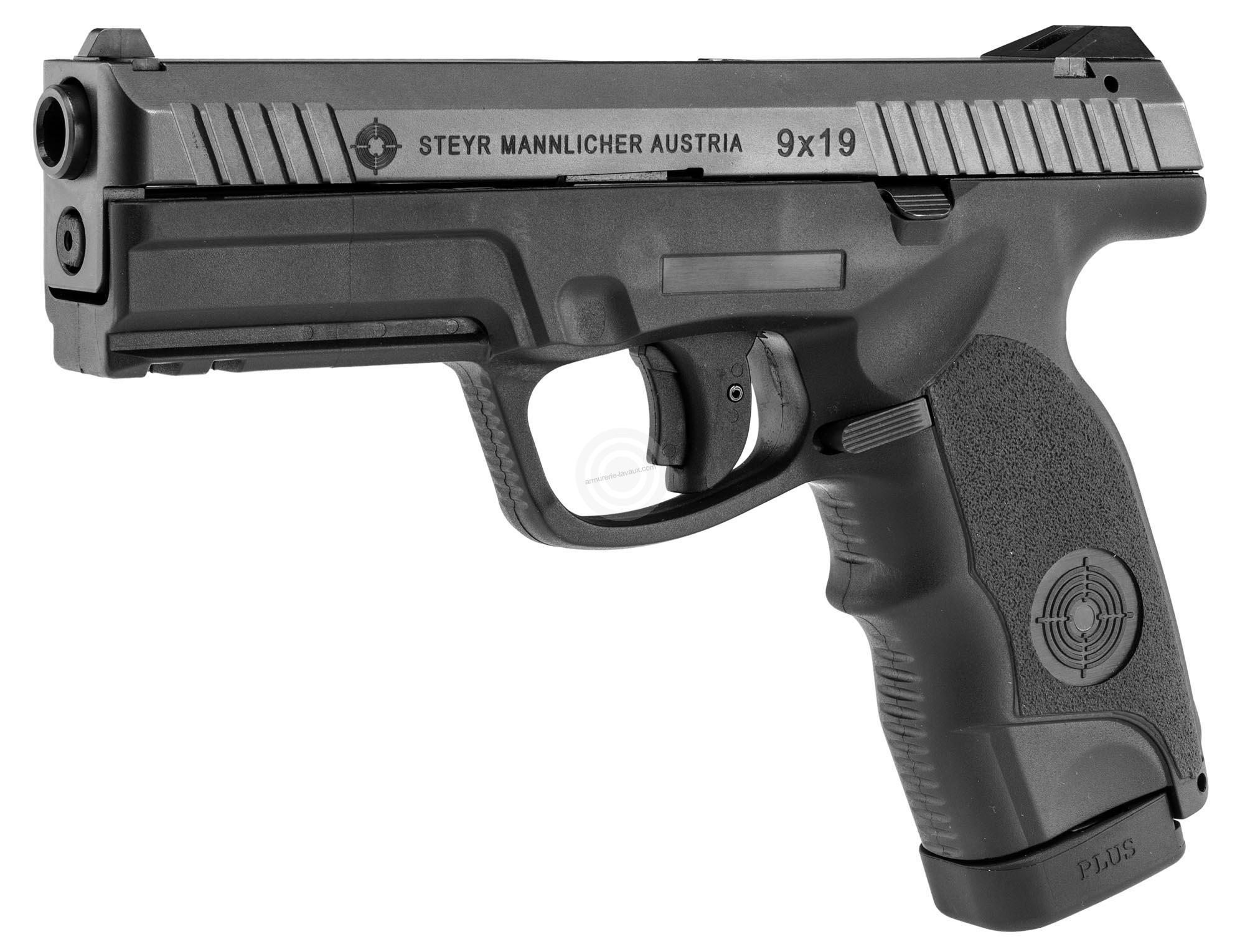 pistolet steyr l9
