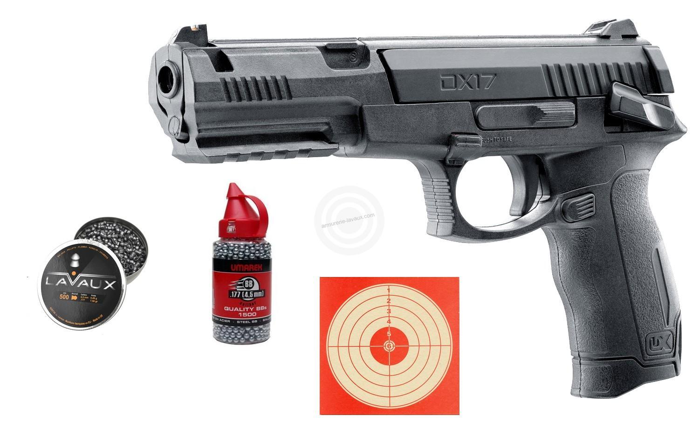 Pistolet à plombs UMAREX DX17 cal.4,5mm