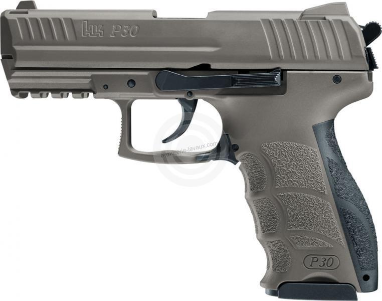 Pistolet d'alarme HK P30 FDE cal.9mm PA UMAREX