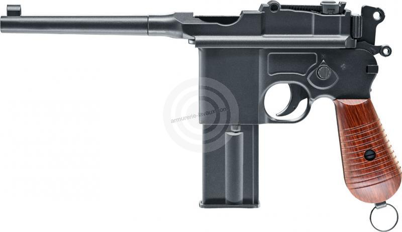 Pistolet LEGENDS C96 Full METAL UMAREX calibre 4.5