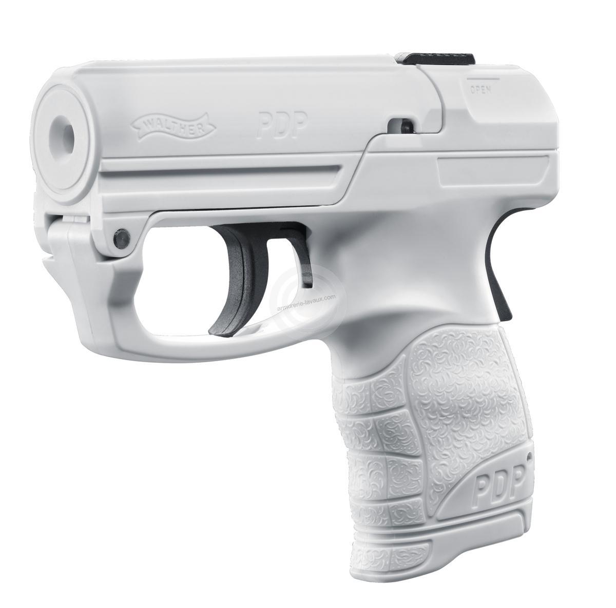 Pistolet lacrymogène WALTHER PDP Blanc