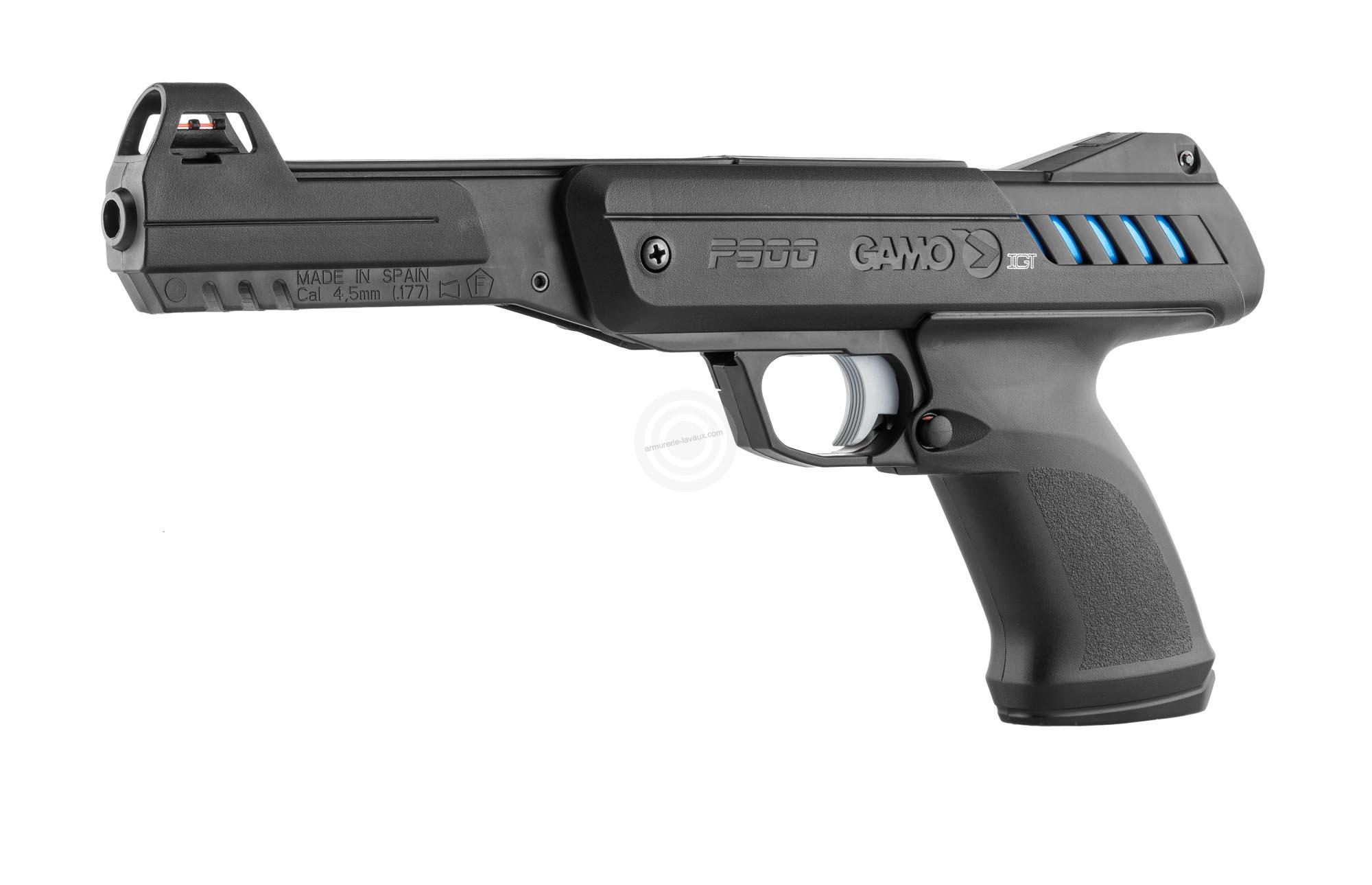 211b0488520593 Pistolet à plombs GAMO P 900 IGT - Armes de loisirs sur Armurerie-Lavaux