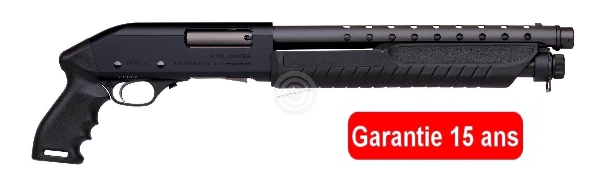 Pistolet à pompe FABARM Martial Ultrashort 14