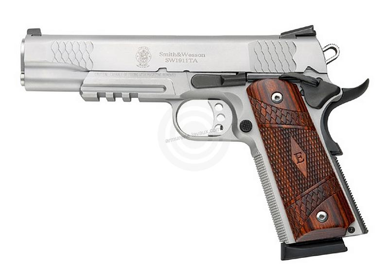 Pistolet SMITH & WESSON E-Series SW1911 Inox Tactical cal.45 ACP