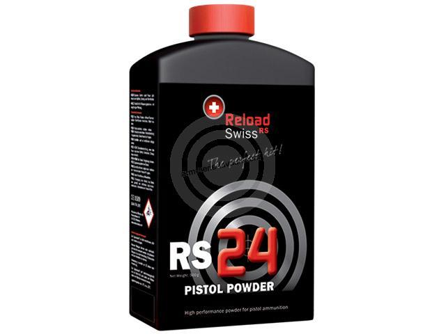Poudre RELOAD SWISS RS24 (bidon de 500 gr)