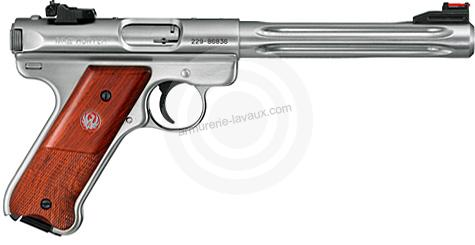 Pistolet RUGER MARK III INOX Hunter 6 7/8