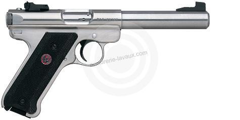 Pistolet RUGER MARK III Target Inox 5 1/2