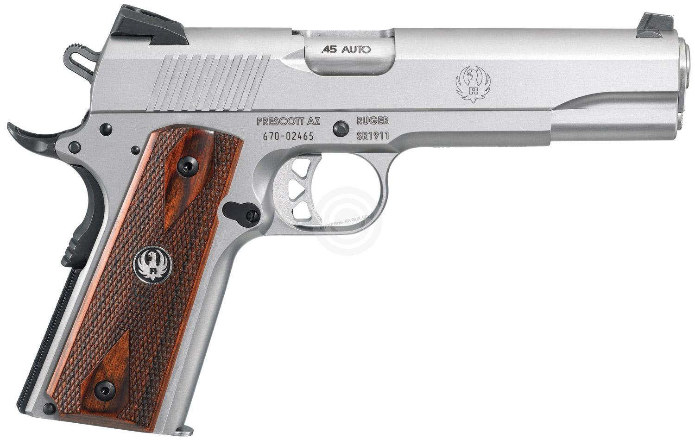 Pistolet RUGER SR1911 calibre 45 ACP