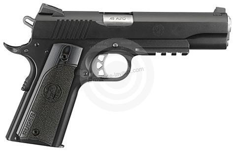 Pistolet RUGER SR1911 Tactical Deluxe G10 calibre 45 ACP