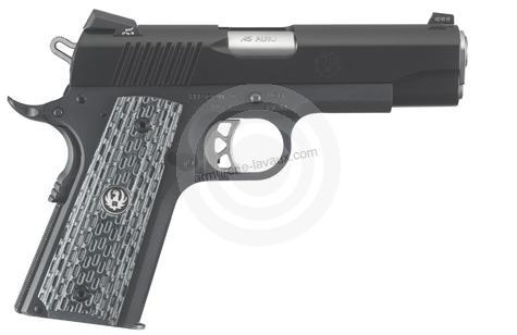 Pistolet RUGER SR1911 Commander Micarta calibre 45 ACP