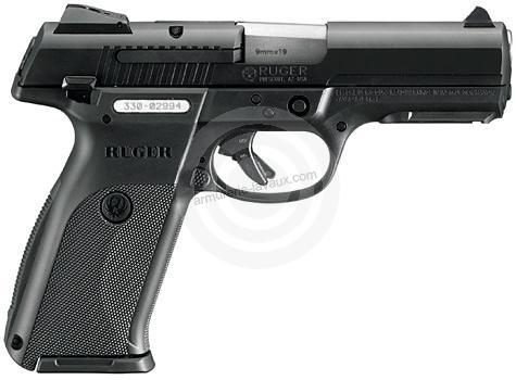 Pistolet RUGER SR9 calibre 9x19