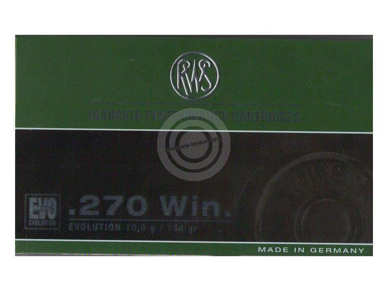 RWS 270 win EVO 9,9g