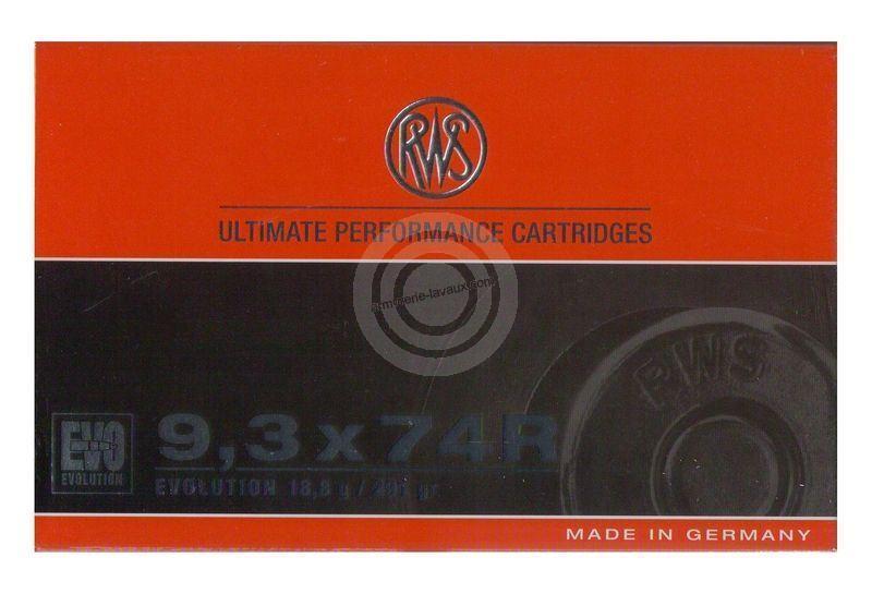 RWS 9,3x74R EVO 18,8g