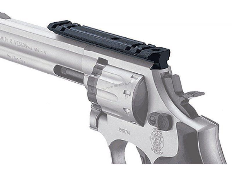 Rail de 21 mm UMAREX pour revolver SW 586 - 686 cal.4,5mm