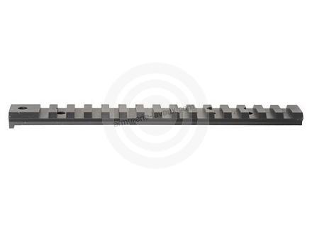Rail acier picatinny noir WARNE pour SAKO TRG 22/42