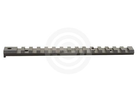 Rail acier picatinny noir SAKO TRG 22/42 (incliné à 20MOA)