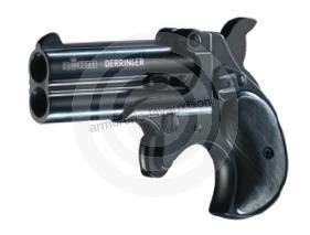 Pistolet DERRINGER Bronz� 2 coups ROHM cal.9mm R