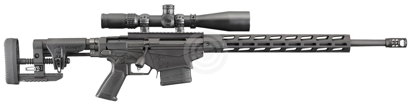 Ruger Precision Rifle Tactical cal.308 win ''Pack Longue Distance BURRIS 5-25x50 GB Mil-Dot