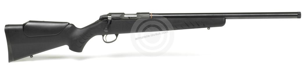 Carabine 17 HMR SAKO Quad Varmint Synthétique Heavy Barrel