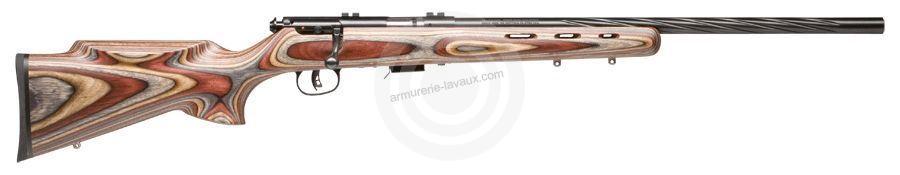 Carabine 22LR SAVAGE Varmint Lamellé Flutage Spiral MARK II BRJ