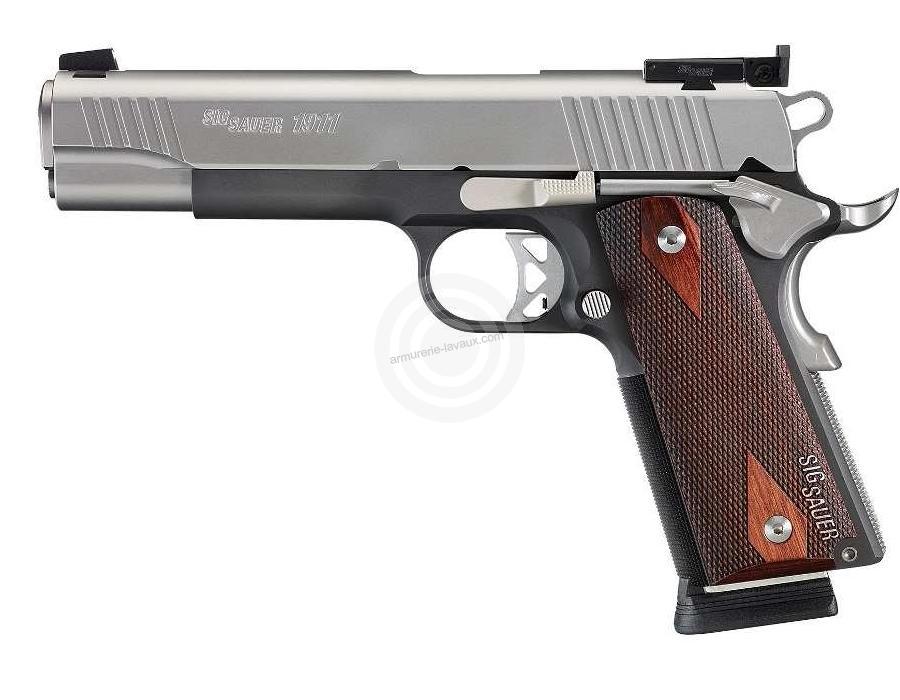 Pistolet SIG SAUER 1911 Tradionnal Match Elite cal.45 ACP
