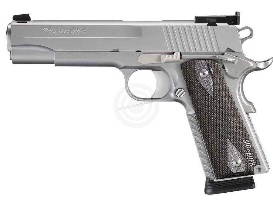 Pistolet SIG SAUER 1911 Target INOX cal.45 ACP
