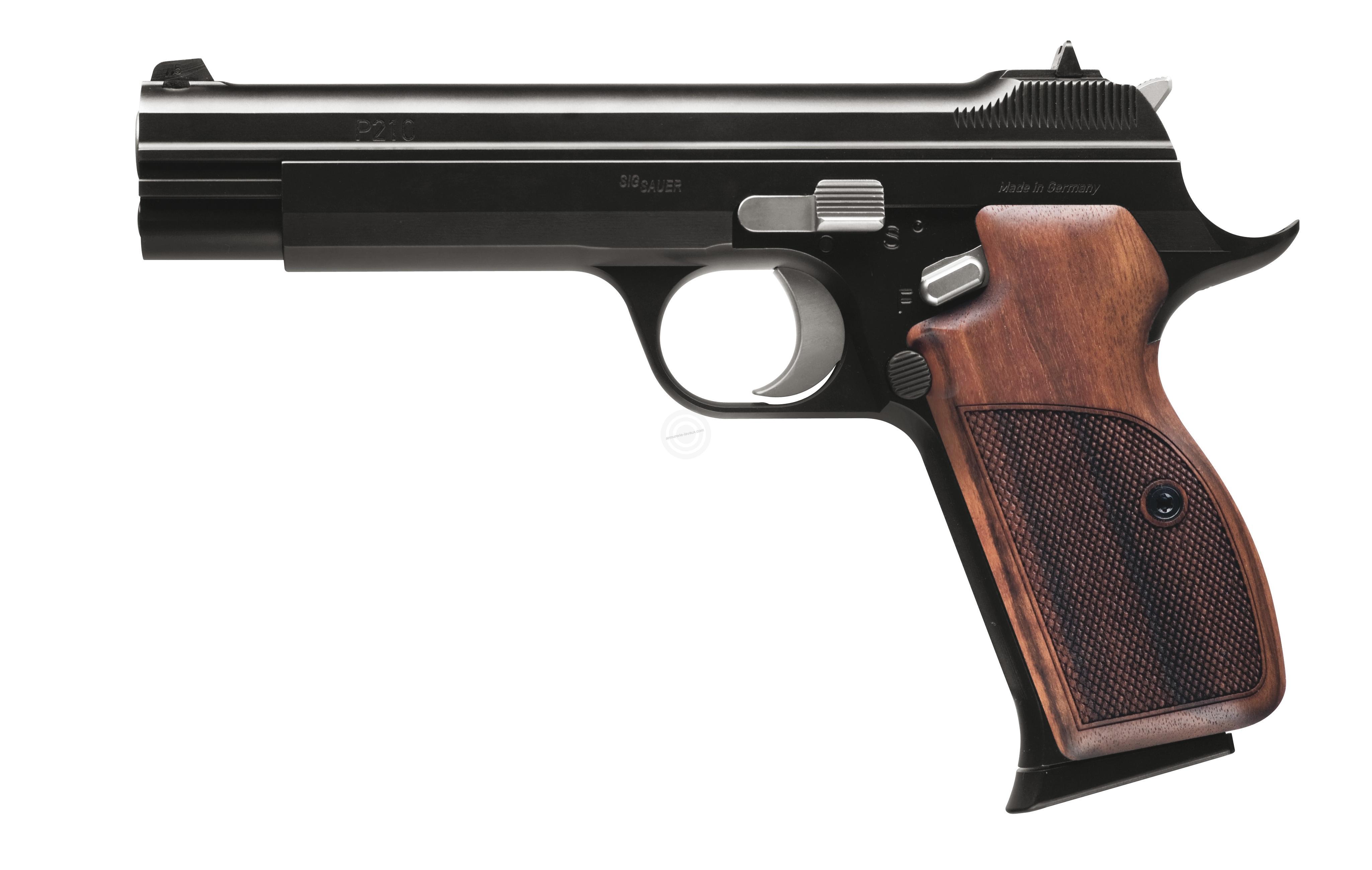 Pistolet SIG SAUER P210 Legend cal.9x19