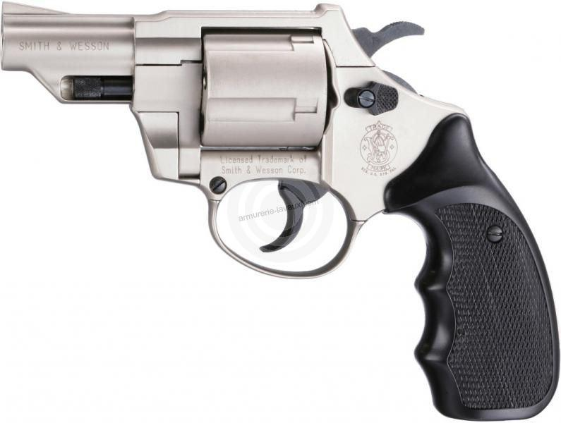 Revolver SMITH & WESSON Combat Nickelé Mat cal.9mm R UMAREX