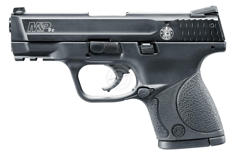 Pistolet d'alarme SMITH & WESSON M&P9C Bronzé cal.9mm UMAREX