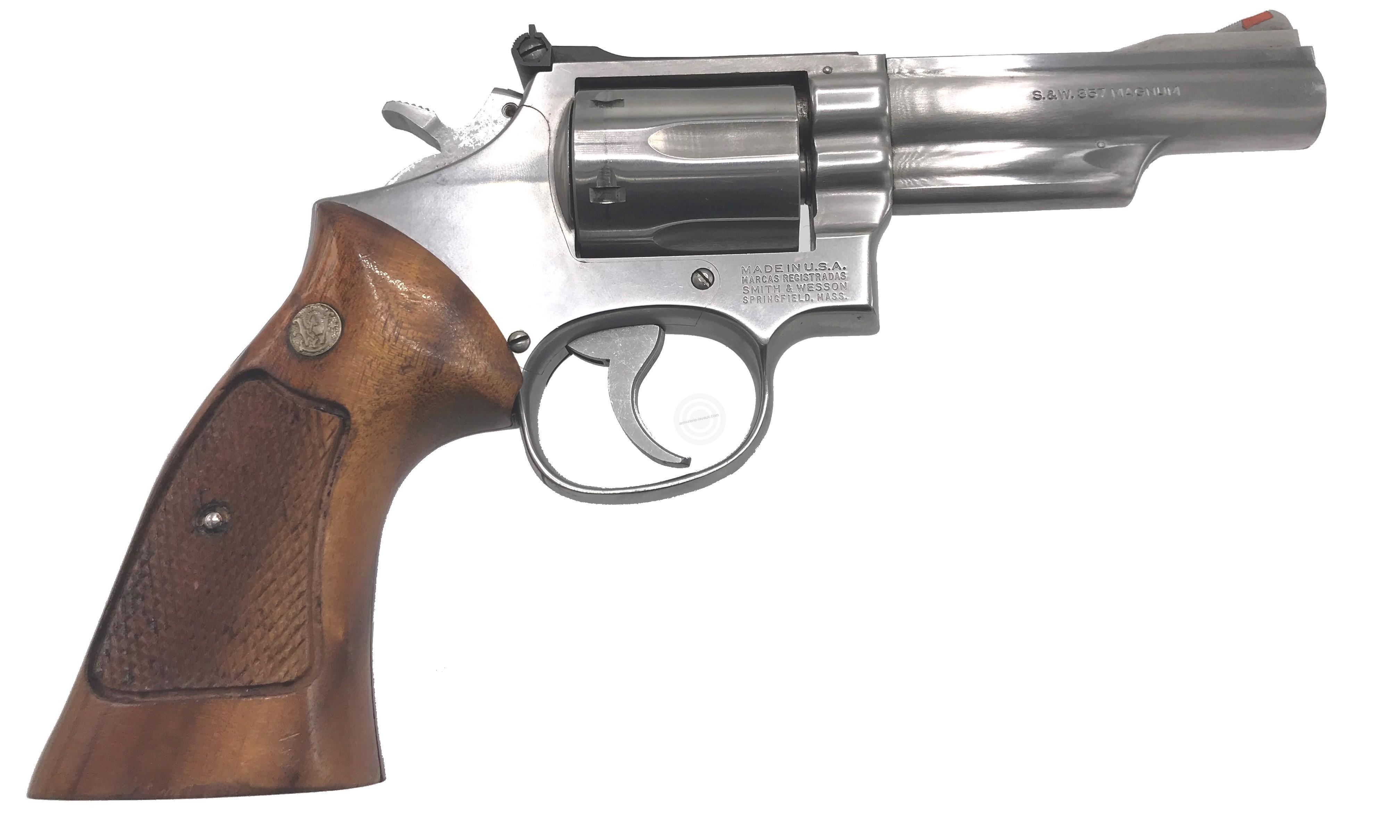 revolver smith wesson 4 magnum occasion armes cat gorie b sur armurerie lavaux. Black Bedroom Furniture Sets. Home Design Ideas