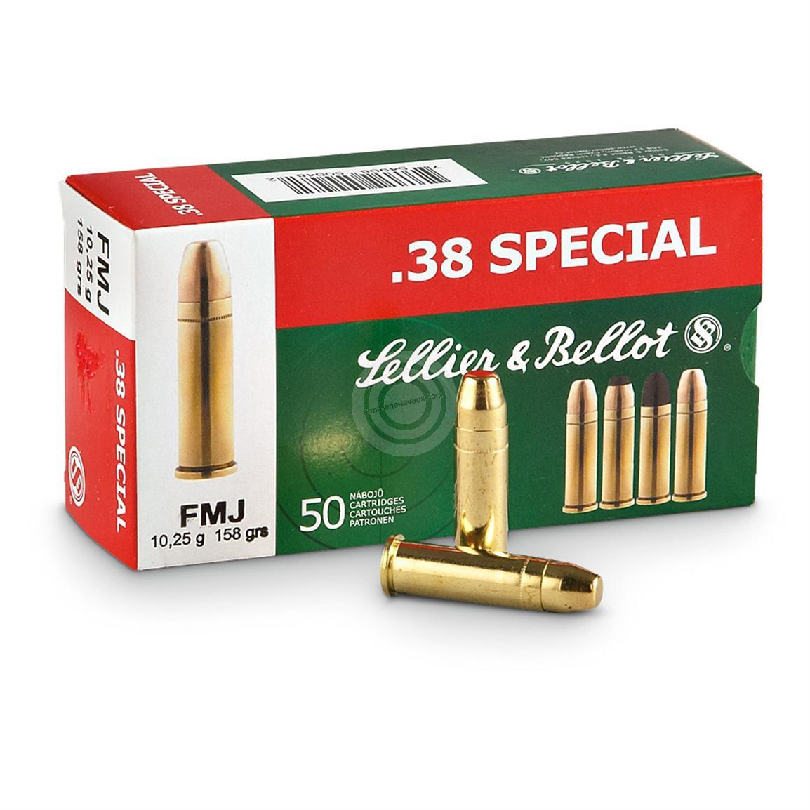 SELLIER BELLOT cal.38 Sp�cial FMJ