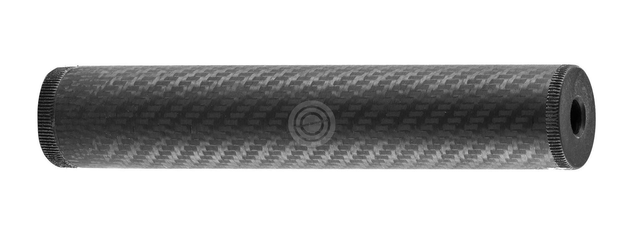 Silencieux 22lr carbone (Filetage 1/2x28)