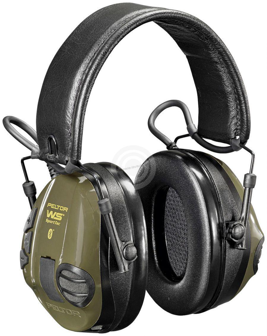 Casque antibruit Electronique PELTOR Sport Tac WS Bluetooth