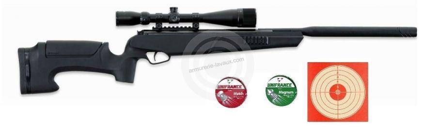 Carabine STOEGER ATAC Suppressor S2 lunette STOEGER 4-16x40 ''Pack LOISIR''