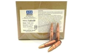 Munitions de surplus STV FMJ cal.7.62x39 (250 cartouches)