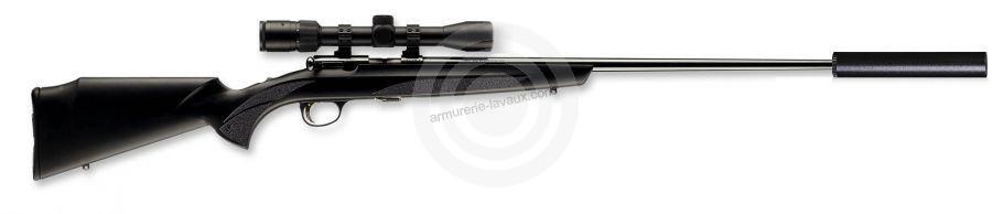 Carabine 22LR BROWNING T-BOLT Sporter Composite (avec silencieux STILL 5 et LYNX Varmint 6-24x42 AO)