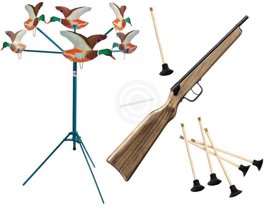 tir aux canards lectrique 6 canards armes de loisirs sur armurerie lavaux. Black Bedroom Furniture Sets. Home Design Ideas