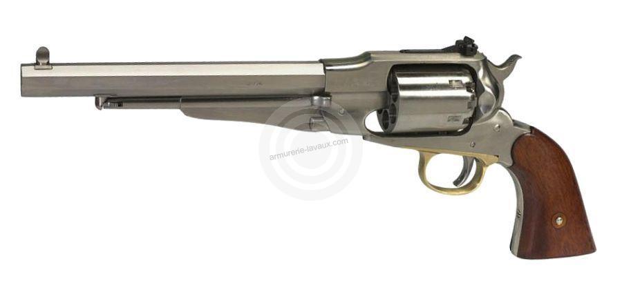 Revolver à Poudre Noire Uberti REMINGTON 1858 New ARMY INOX Target Cal. 44