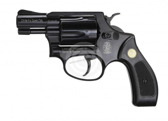 Revolver SMITH-WESSON Chiefs Spécial Bronzé cal.9mm R UMAREX