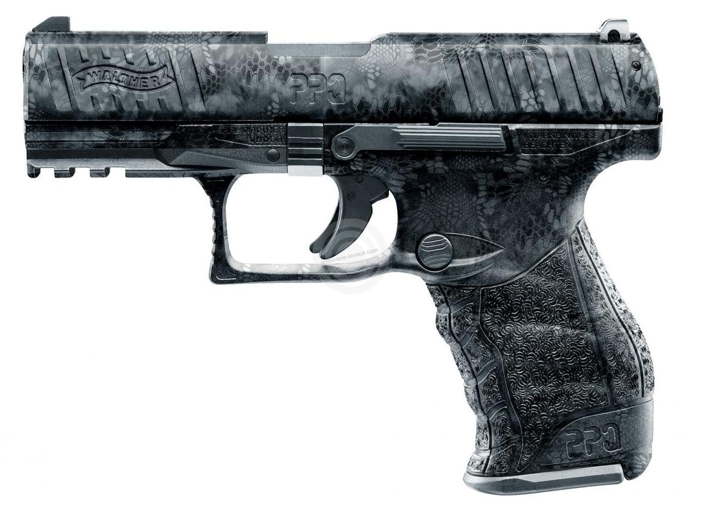 Pistolet d'alarme WALTHER PPQ M2 KRYPTEK Black cal.9mm PA UMAREX