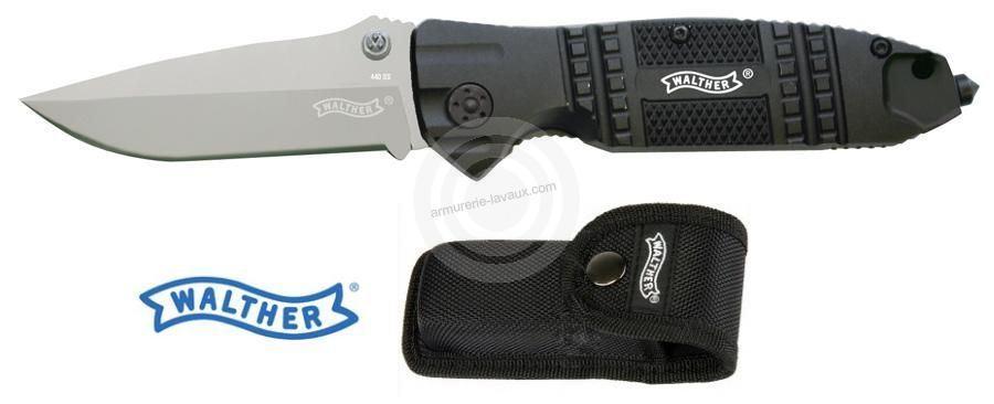 Couteau Walther STK avec étui