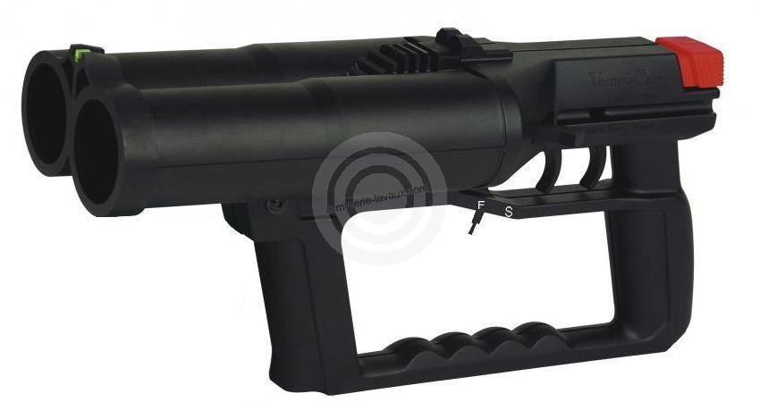Pistolet Flash-Ball VERNEY-CARRON F101S avec sécurité (VERSION Police Municipale)