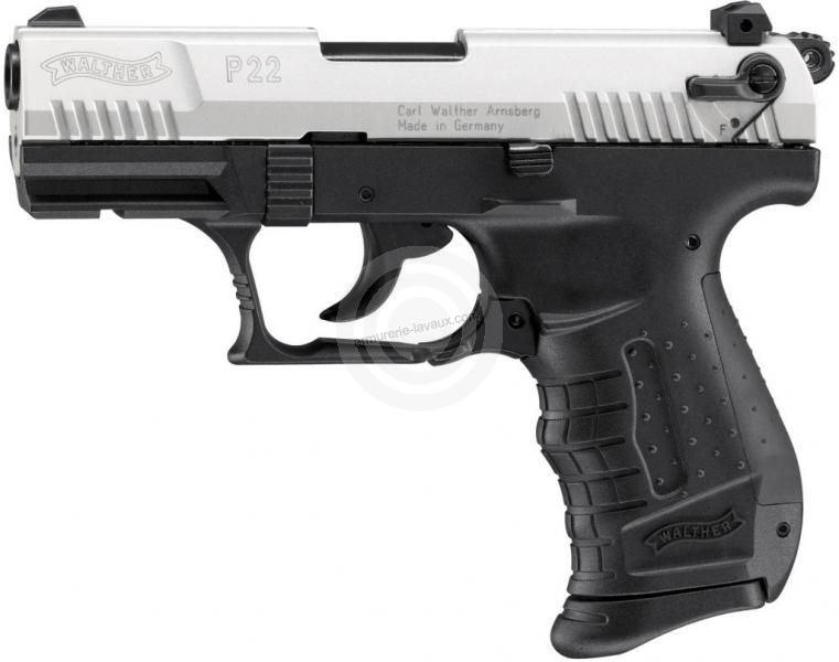 Pistolet WALTHER P22 Bicolore cal.9mm UMAREX
