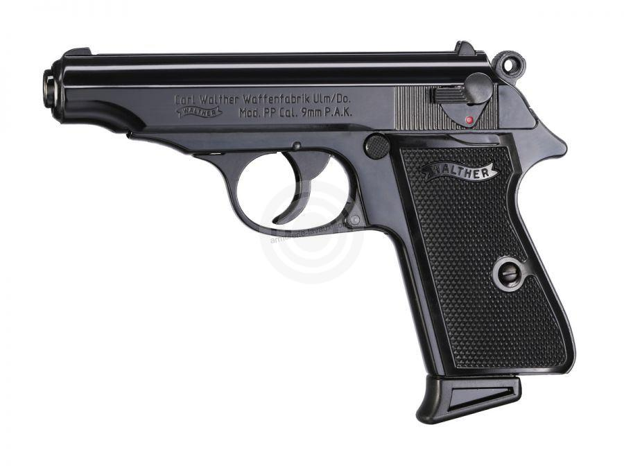 Pistolet d'alarme WALTHER PP Bronzé cal.9mm UMAREX
