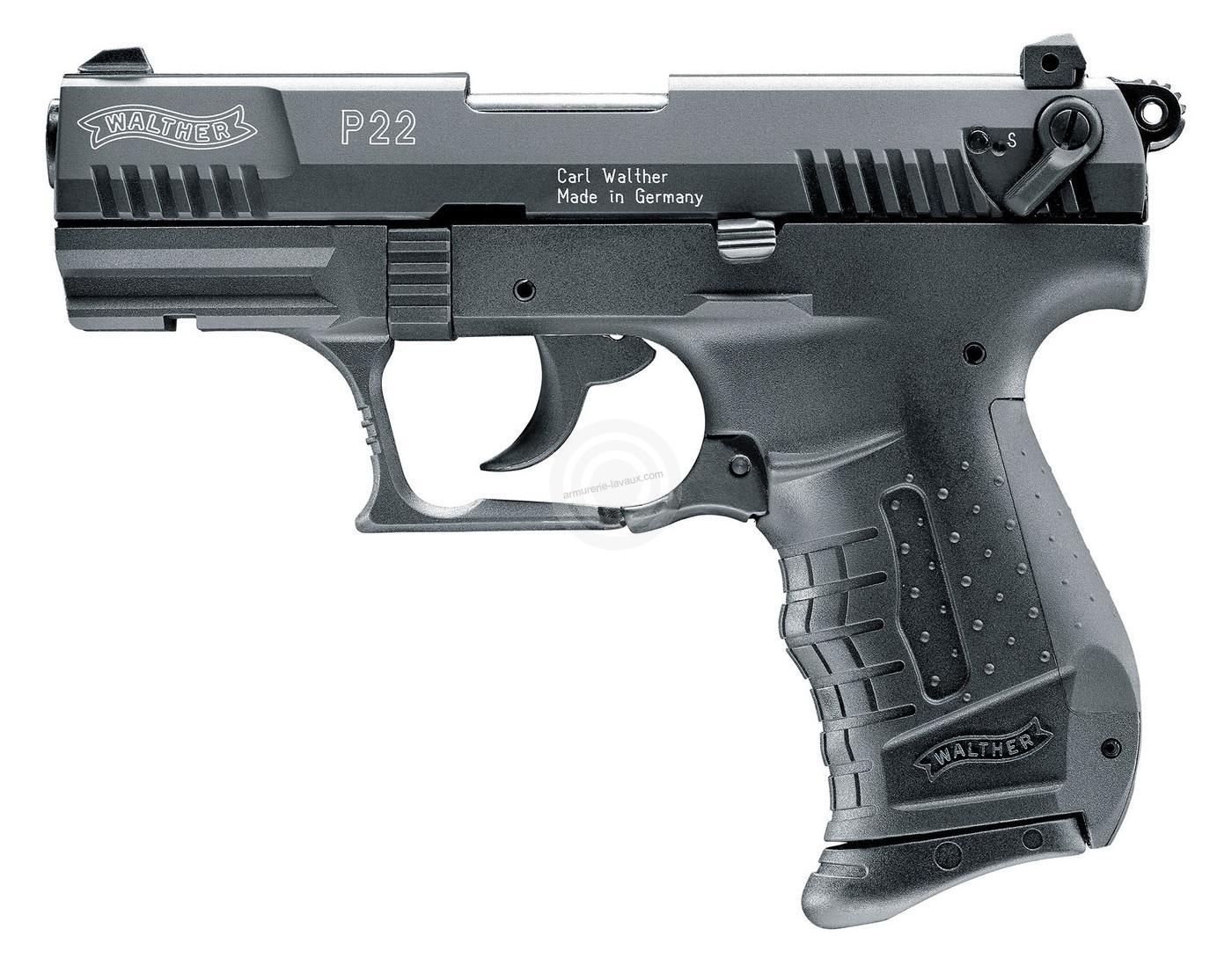 Pistolet d'alarme WALTHER P22 Bronzé cal.9mm UMAREX