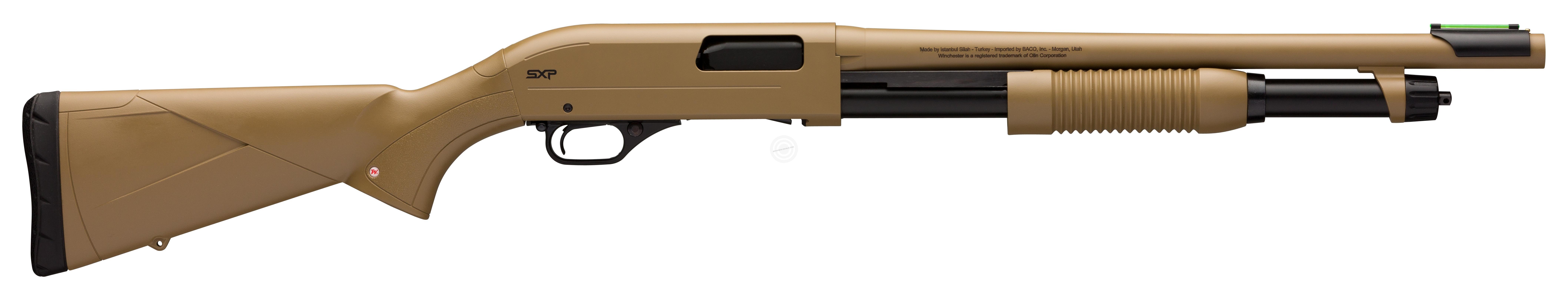 Fusil à pompe WINCHESTER SXP Dark Earth cal.12/76 (canon de 46cm)