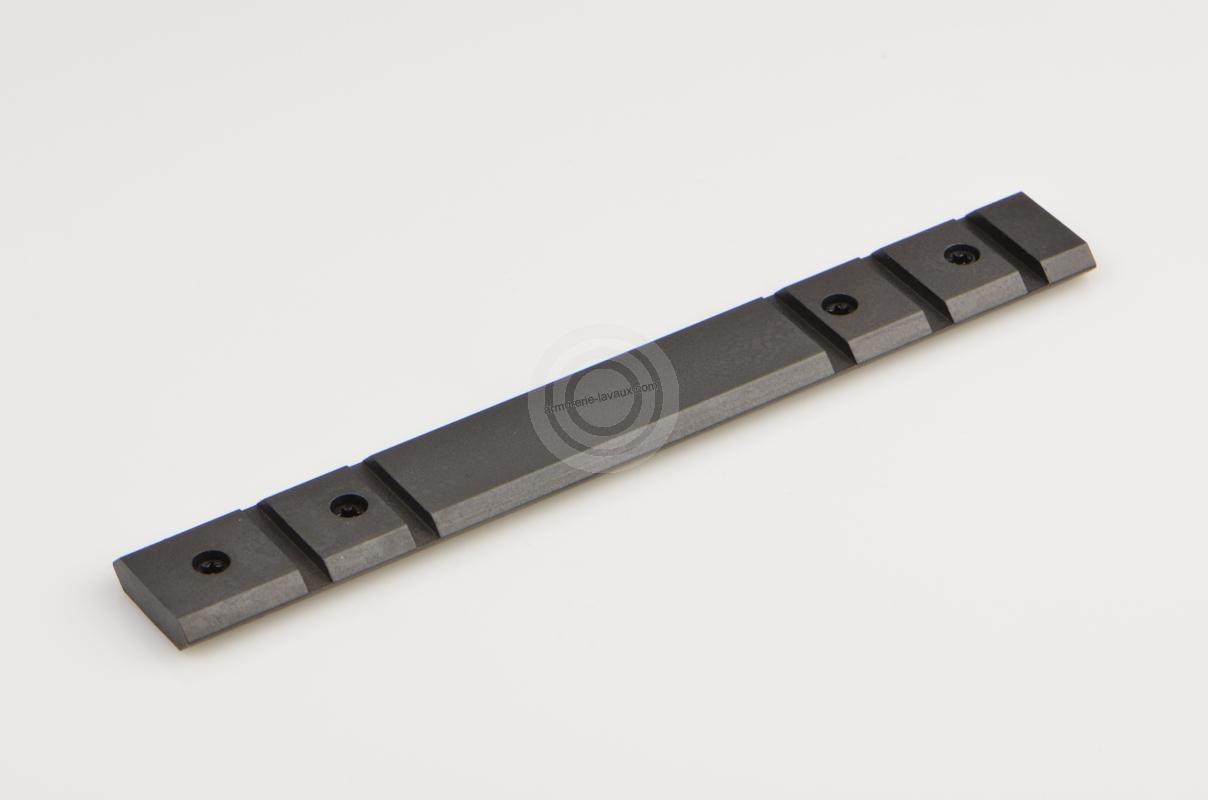 Rail picatinny standard WARNE acier noir TIKKA T3 - T3X